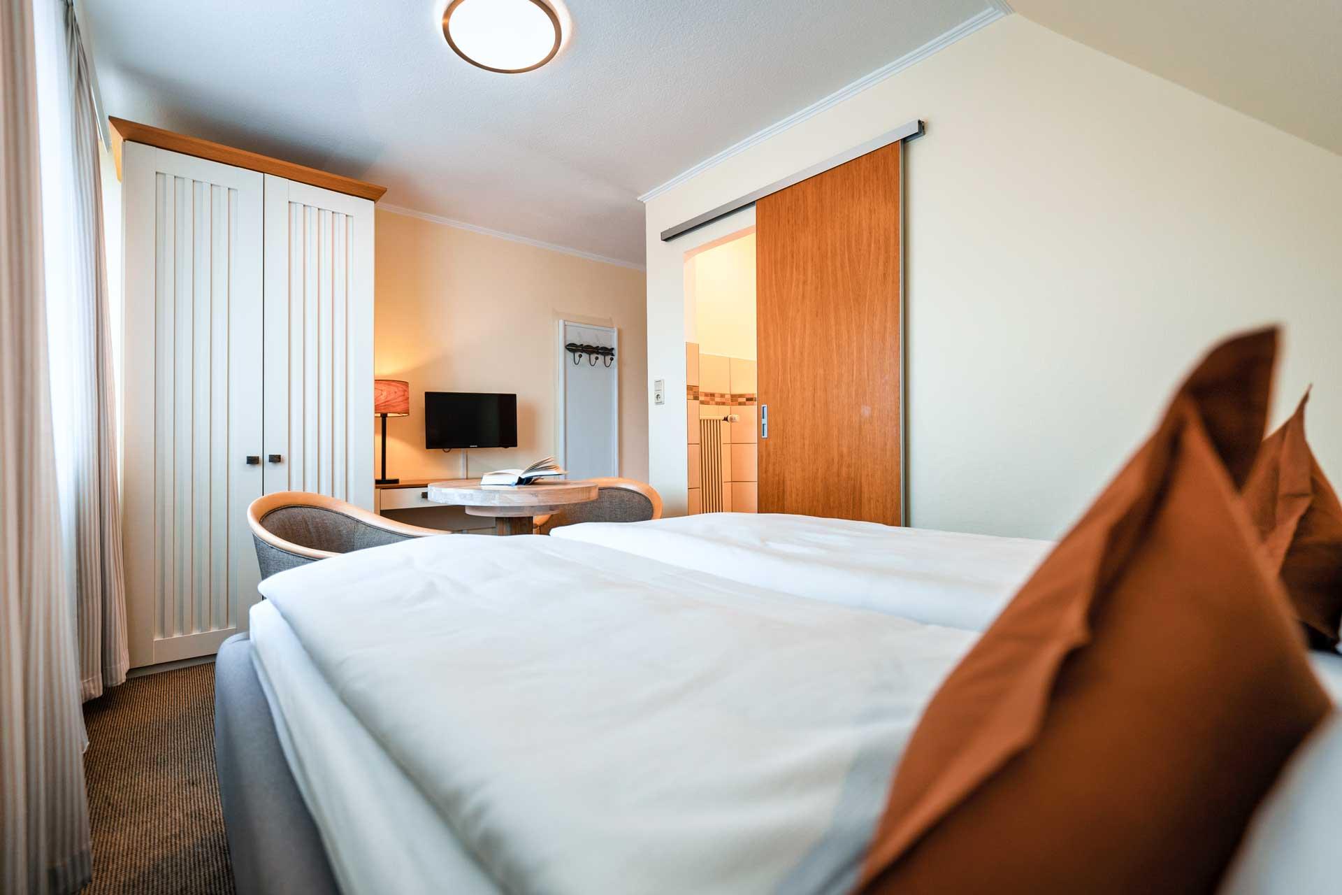Doppelzimmer 09, Wattenmeerblick
